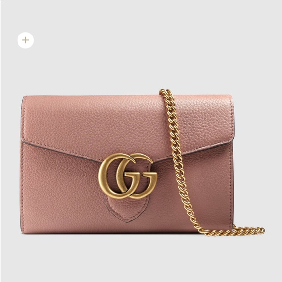 762f358a964 Gucci Handbags - Gucci Marmont Mini Chain Wallet Purse